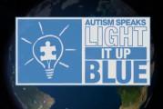 San Salvo: la città si colora di blu per la Giornata mondiale dell'autismo