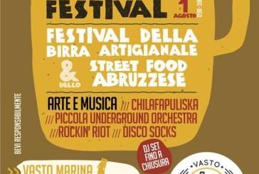 Vasto Beer Festival: dal 30 luglio al 1 agosto