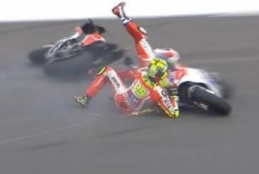 MotoGP: Iannone, lesione vertebrale. Ma lo stop nel GP non è certo