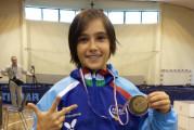 La vastese Gaia Smargiassi medaglia di bronzo