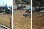 Campo del quartiere San Paolo, lavori a pieno regime