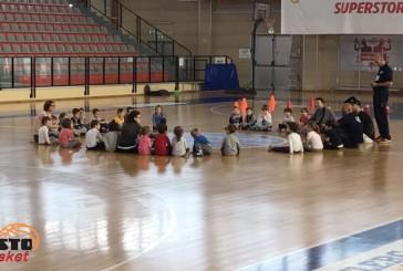 Al via da stamane le attività di baby basket