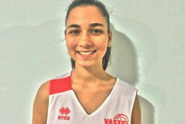 Laura D'Ascenzo della Vasto Basket femminile convocata dalla FIP Abruzzo