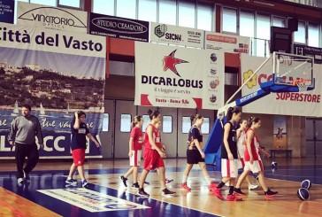 Oggi l'esordio dell'Under 14 della Vasto Basket Generazione Vincente