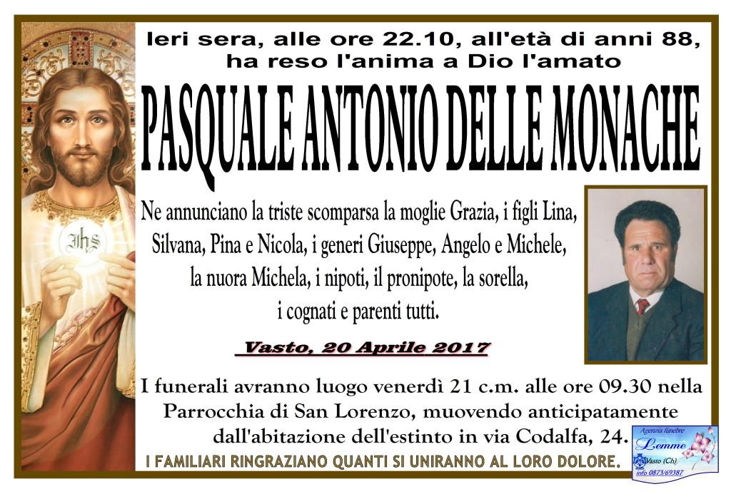 PASQUALE ANTONIO DELLE MONACHE