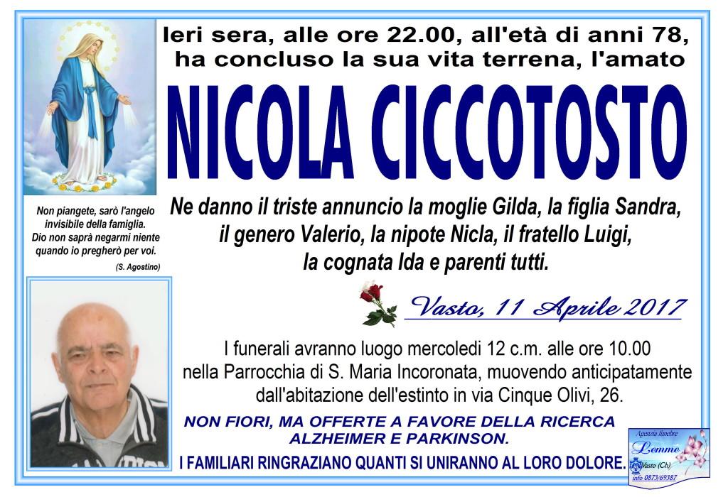 NICOLA CICCOTOSTO