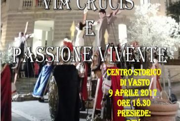 """""""Via Crucis e Passione Vivente"""" oggi a Vasto"""
