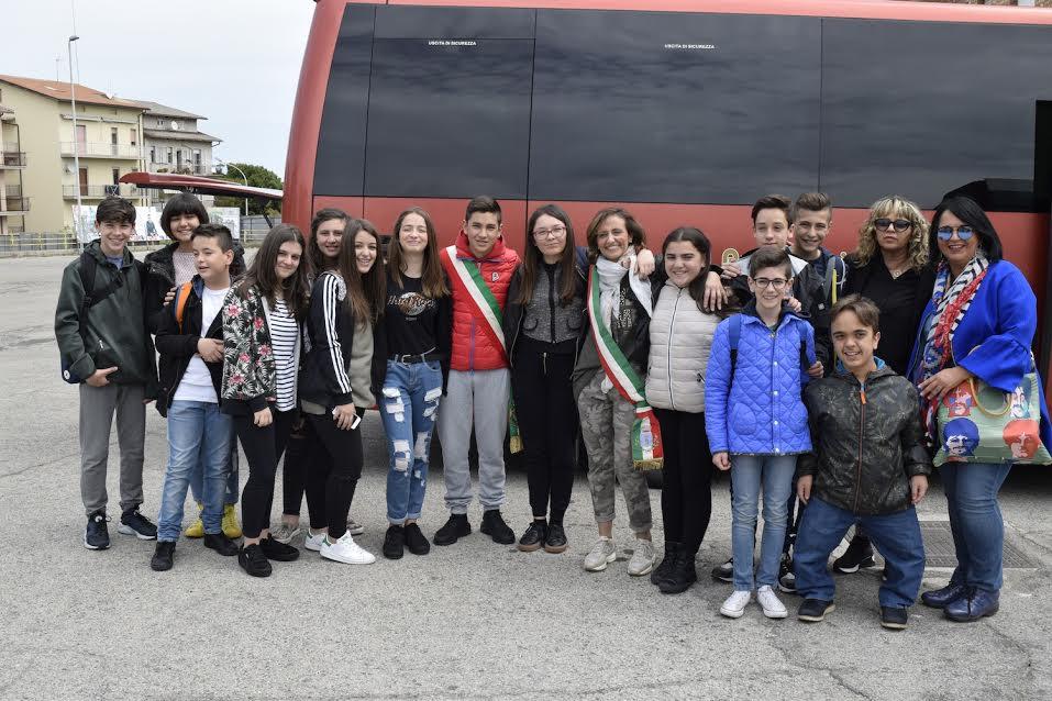 Studenti di san salvo in visita al parlamento europeo con - Piscina comunale san salvo ...