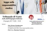 """Convegno """"Toghe, camici e responsabilità: la nuova legge sulle respondabilità mediche"""""""