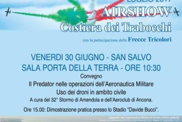 San Salvo, convegno sui Predator e i droni in ambito militare e civile
