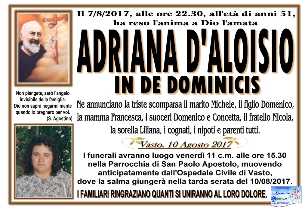 ADRIANA D'ALOISIO