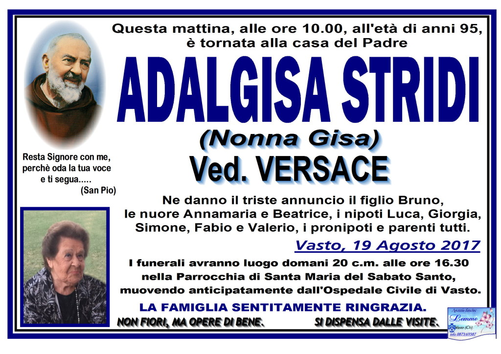 ADALGISA STRIDI