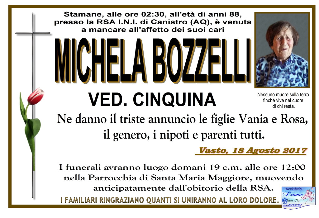 MICHELA BOZZELLI