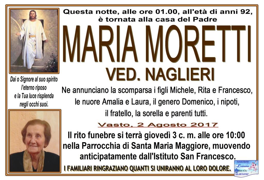 MARIA MORETTI