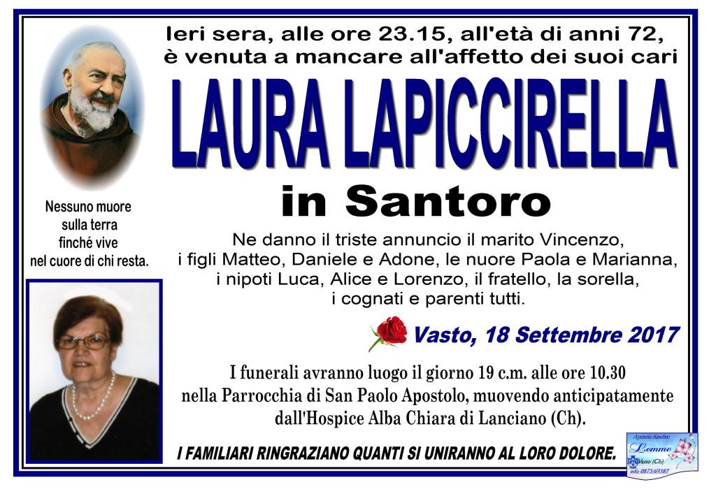 LAURA LAPICCIRELLA