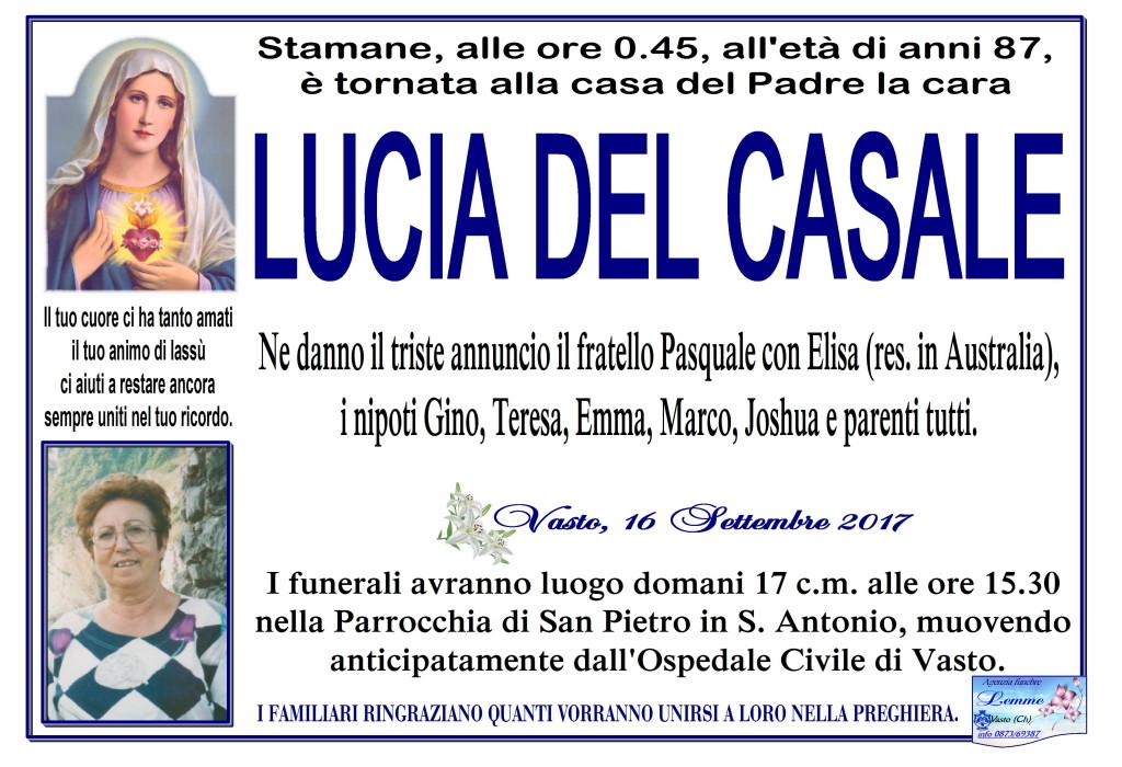 LUCIA DEL CASALE
