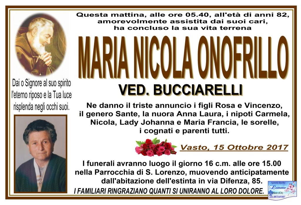 MARIA NICOLA ONOFRILLO