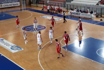 La Vasto Basket vince anche a Teramo