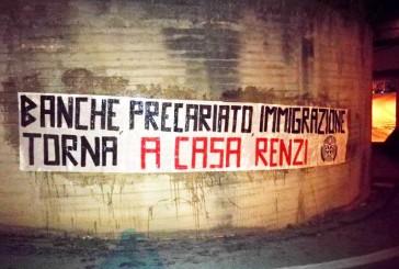 """CasaPound attacca il Segretario del Pd: """"Torna a casa Renzi"""""""