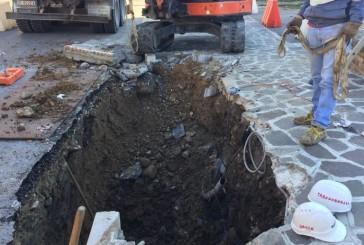 Buchi negli asfalti , riparazioni su quattro strade