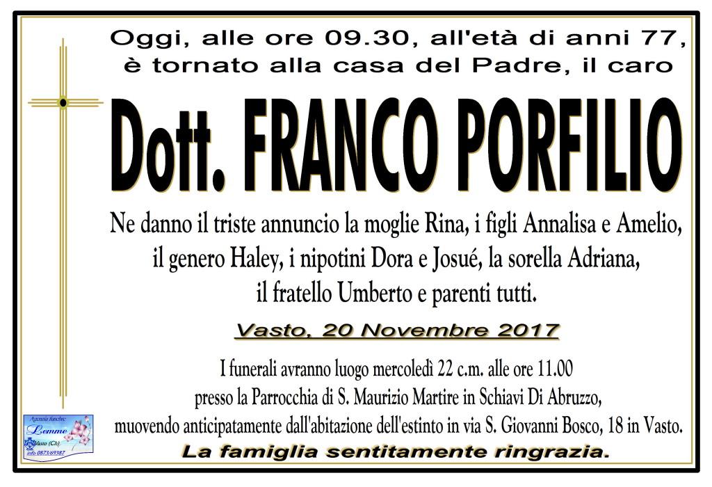 FRANCO PORFILIO