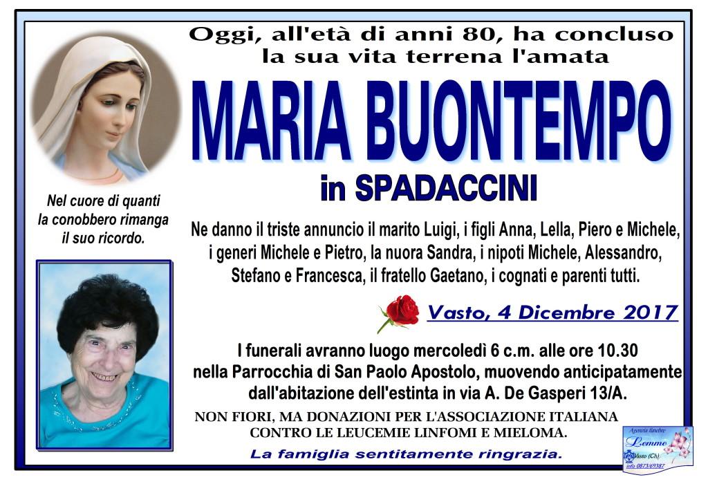 MARIA BUONTEMPO