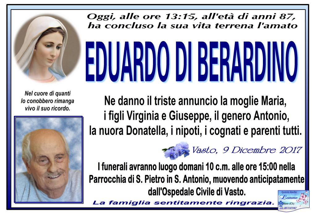 EDUARDO DI BERARDINO