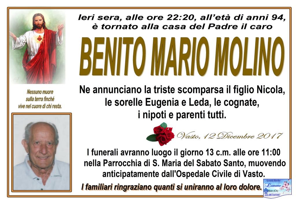 BENITO MARIO MOLINO