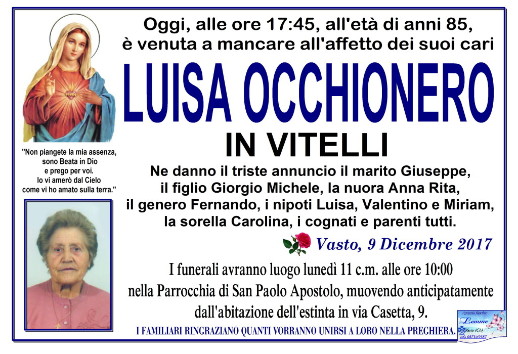 LUISA OCCHIONERO