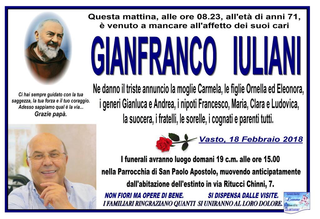 GIANFRANCO IULIANI