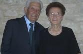 Tanti auguri a Antonio Monteodorisio e Michela Scè per i loro 75 anni di matrimonio