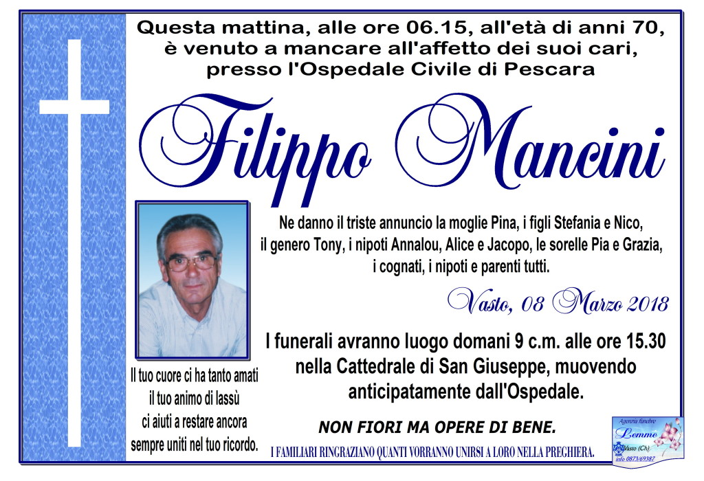 FILIPPO MANCINI