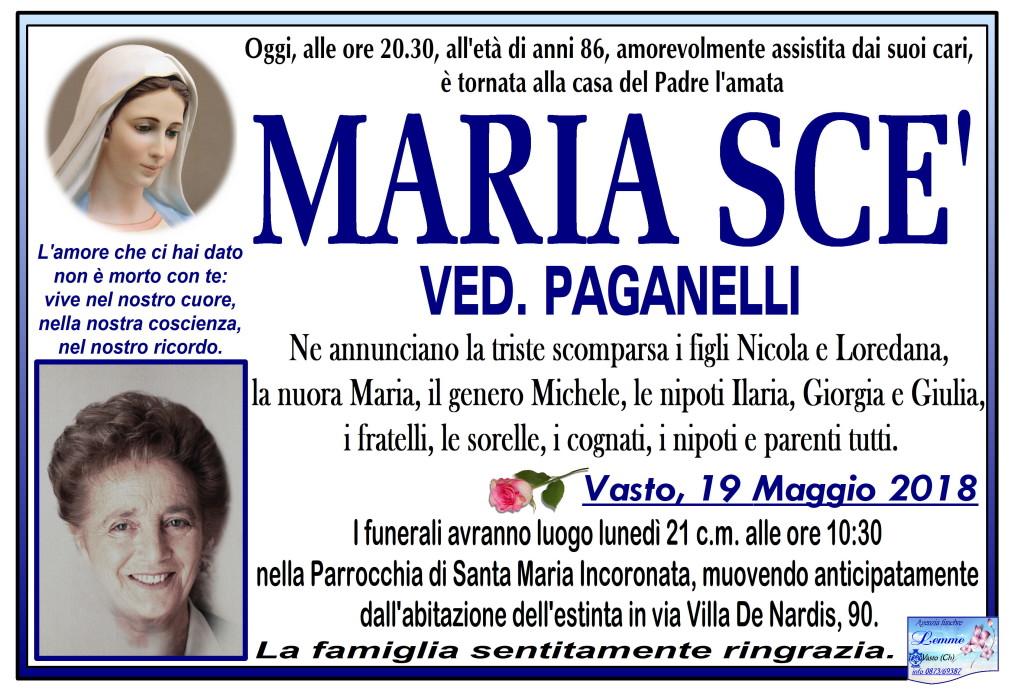 MARIA SCE'