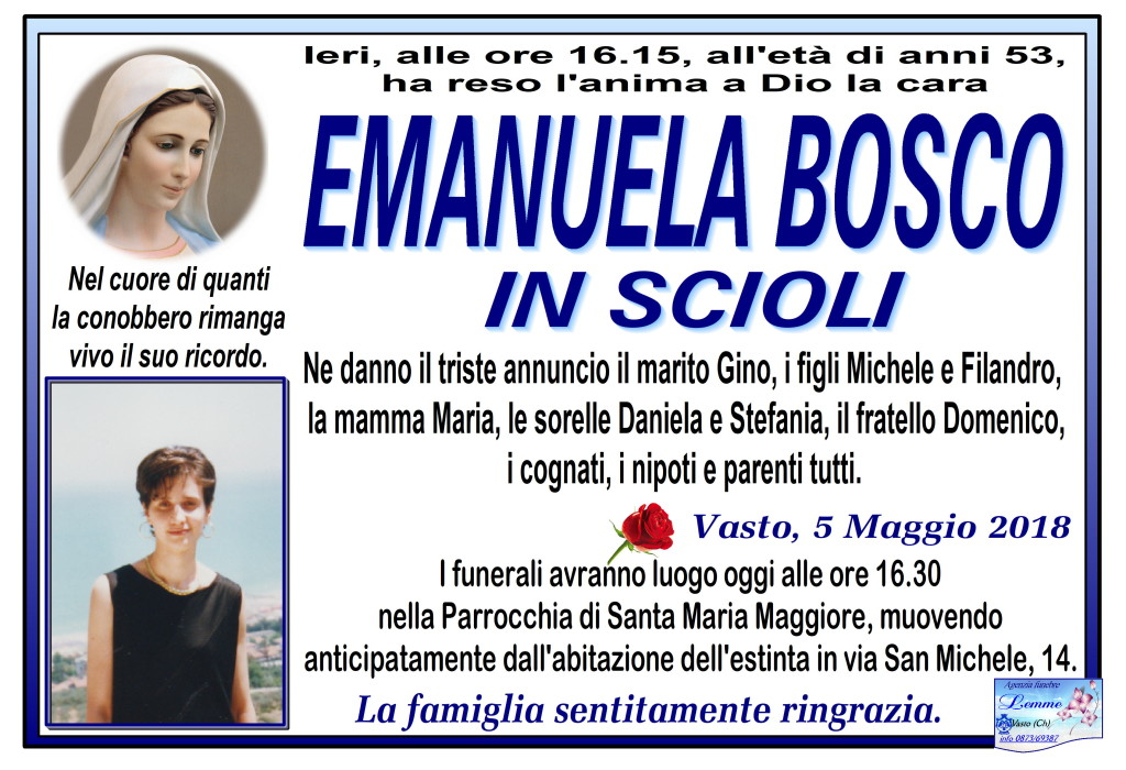 EMANUELA BOSCO