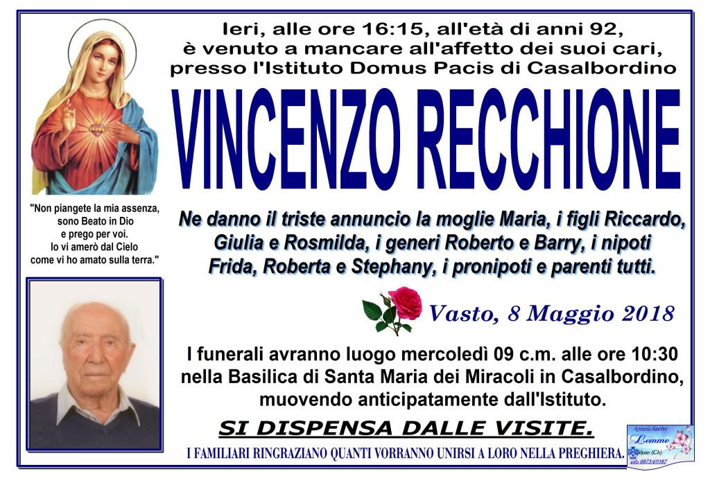 VINCENZO RECCHIONE