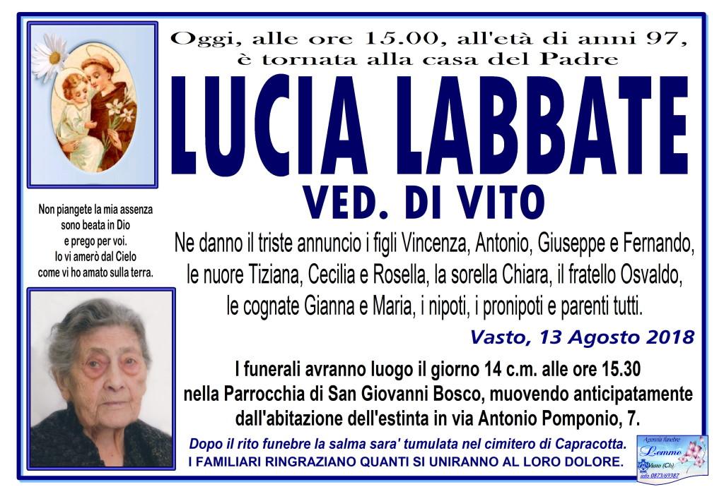 LUCIA LABBATE