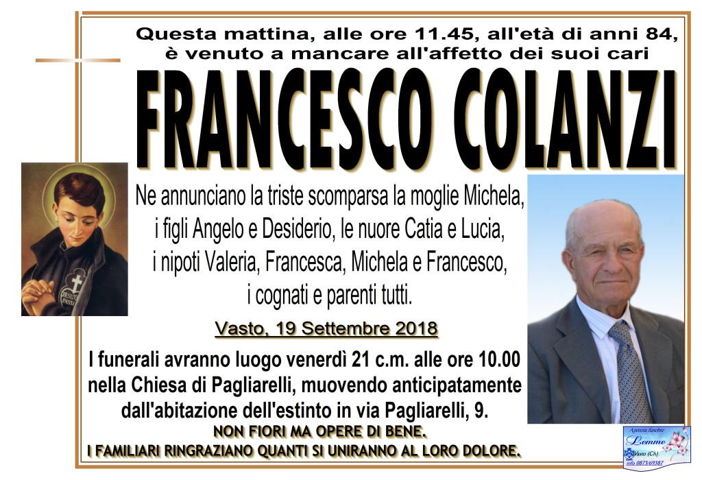 FRANCESCO COLANZI