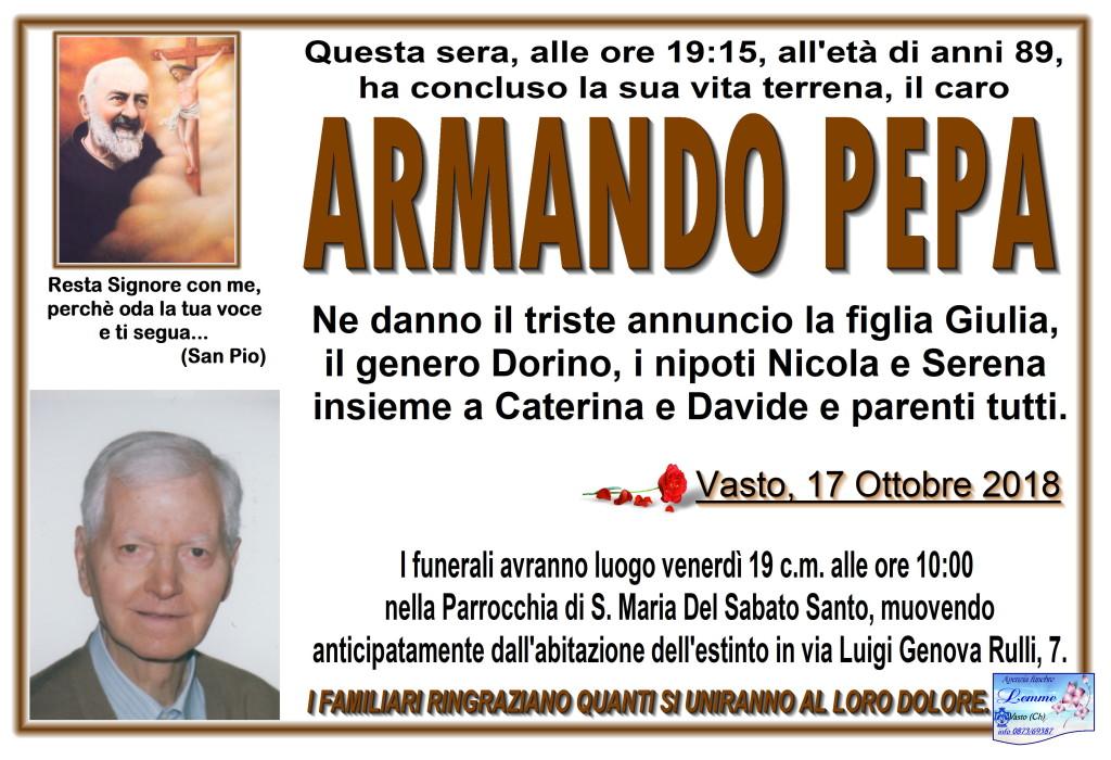 ARMANDO PEPA