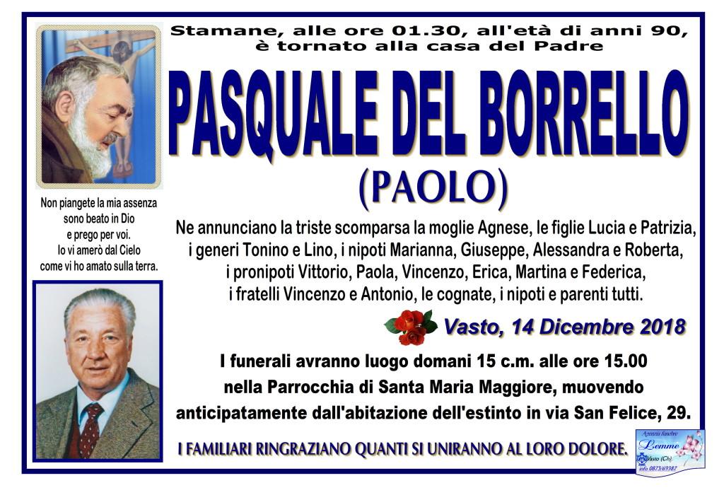 PASQUALE DEL BORRELLO