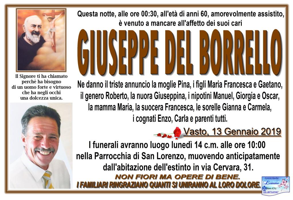 GIUSEPPE DEL BORRELLO