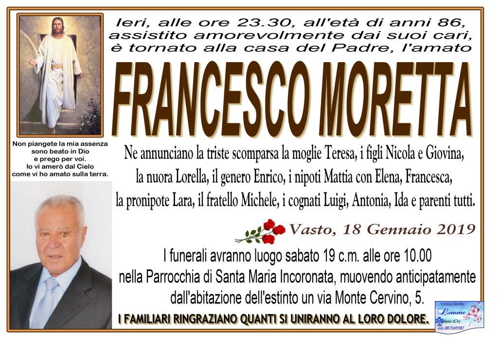 FRANCESCO MORETTA