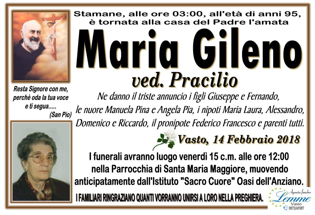 MARIA GILENO