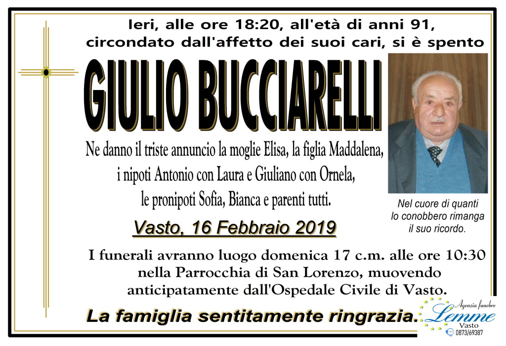 GIULIO BUCCIARELLI