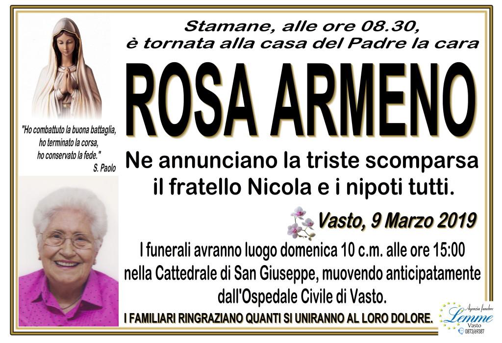 ROSA ARMENO