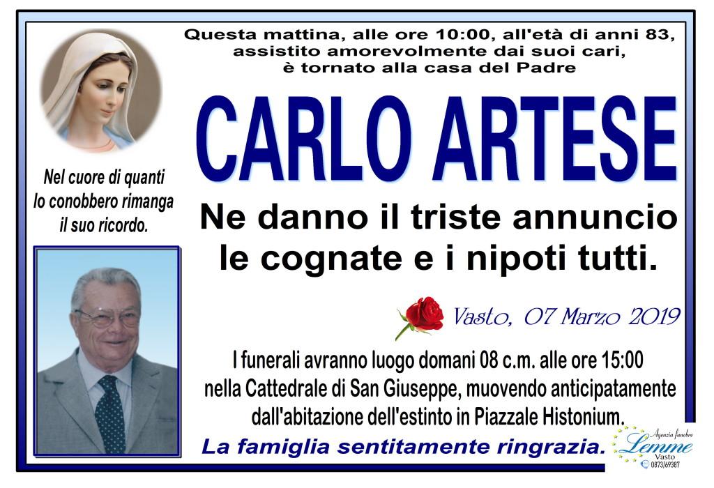 CARLO ARTESE