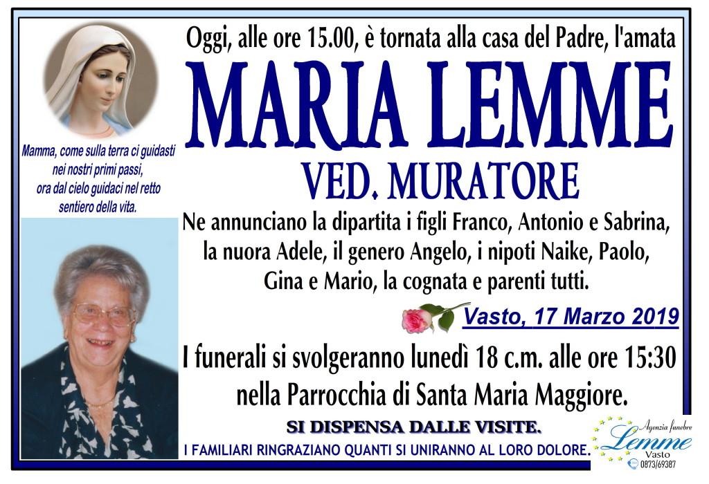 MARIA LEMME