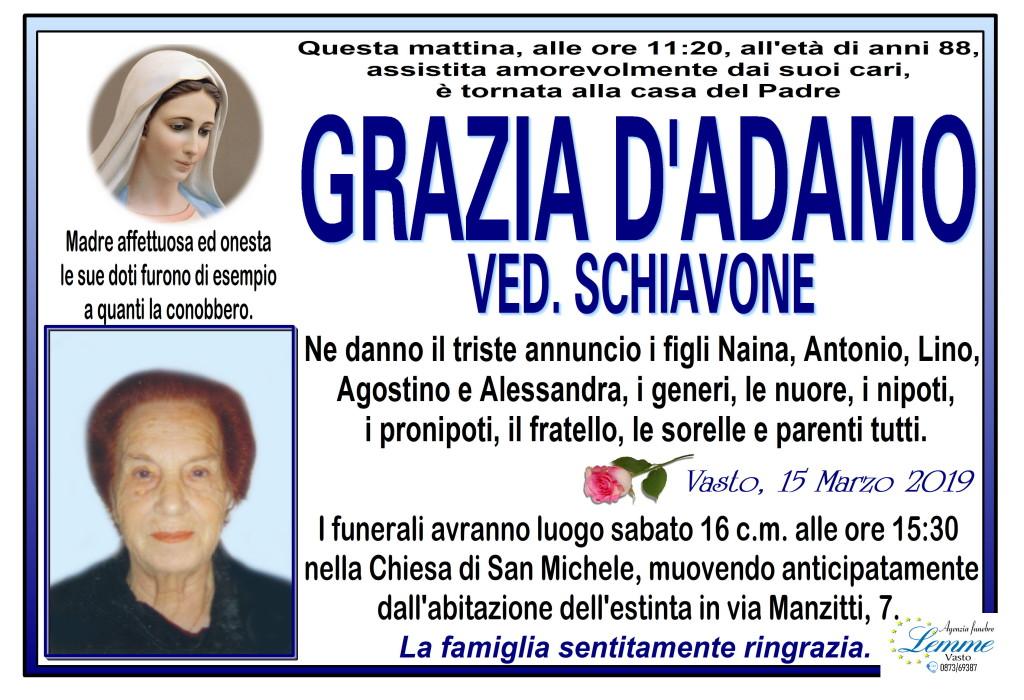 GRAZIA D'ADAMO
