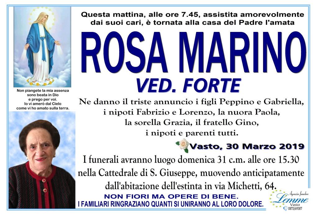 ROSA MARINO