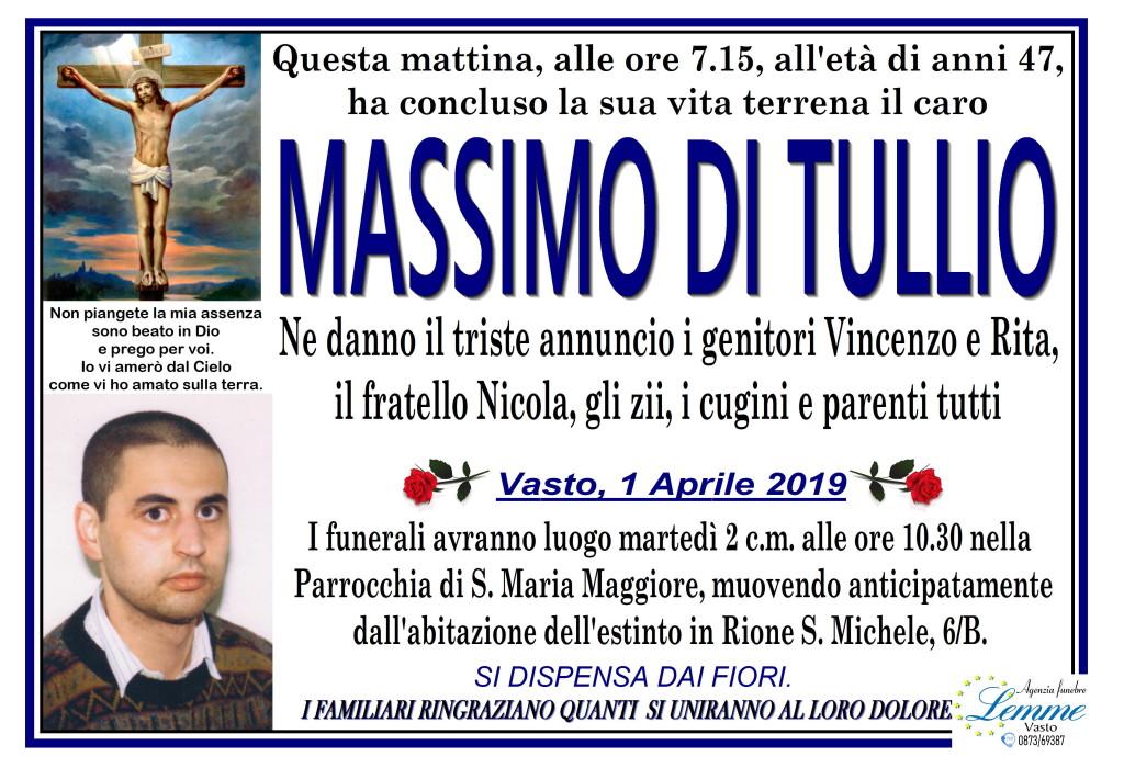 MASSIMO DI TULLIO