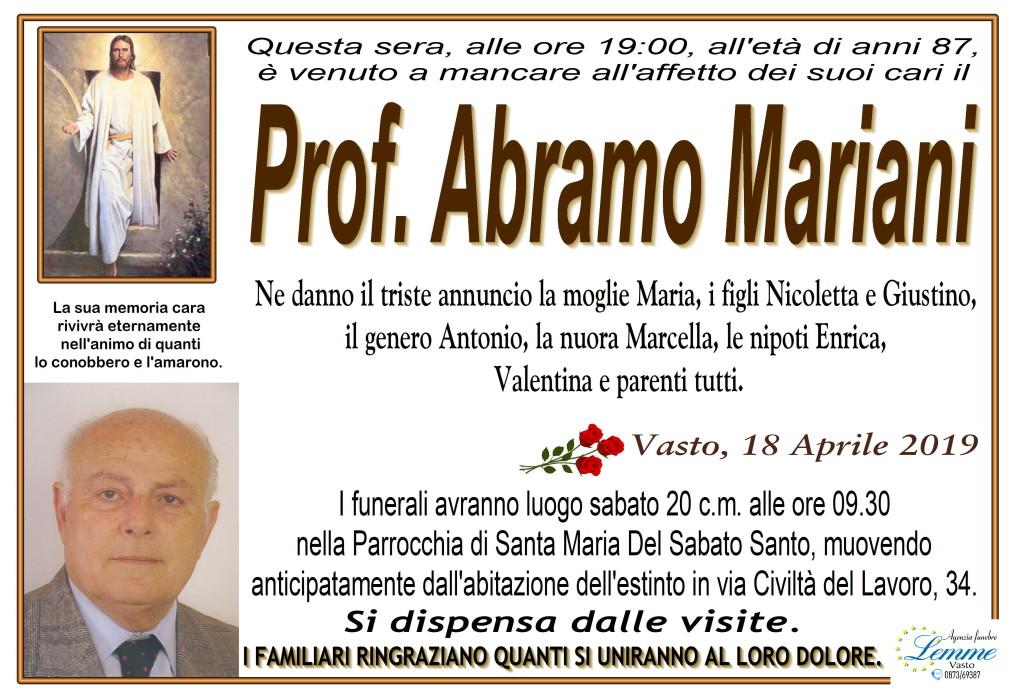 ABRAMO MARIANI